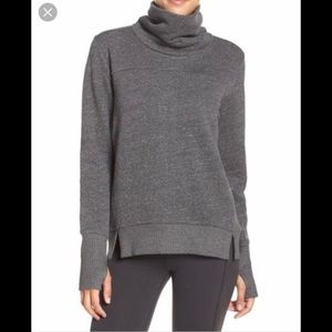 alo yoga haze long sleeve sweatshirt